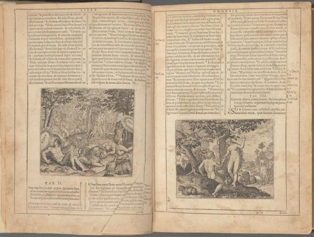 Biblia Sacra vulgatæ, pages 2 & 3
