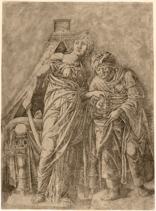 Judith with the Head of Holofernes, c. 1479-1500 After Andrea Mantegna