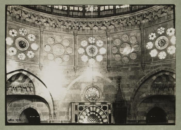 Interior of the mosque of Sinan Pasha, Cairo (Photograph)